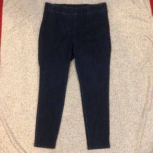 Soft Surroundings 1x Metro Leggings Denim Jean